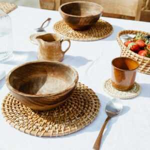 Scout Rattan Placemat